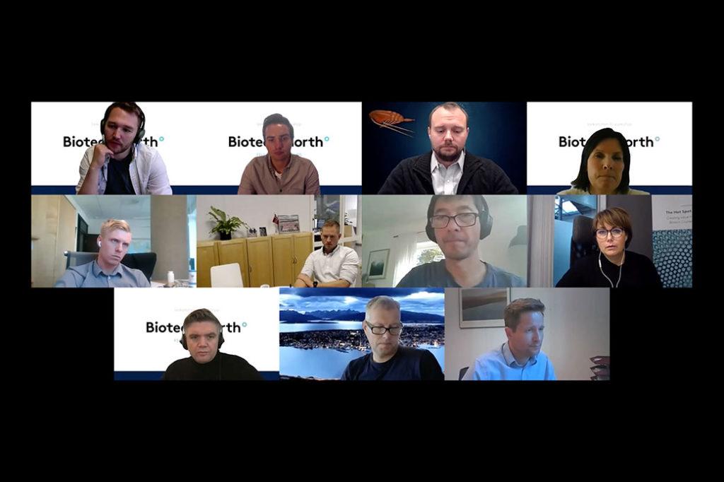 skjermbilde av en videokonferanse