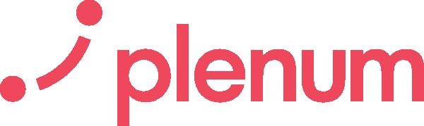 Plenum logo rød